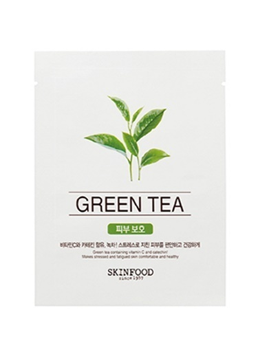 Skinfood Beauty İn A Food Tek Kullanımlık Yeşil Çay Bakım Maskesi Renksiz